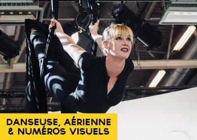 Élodie Lobjois – Danse, tissu, cerceau