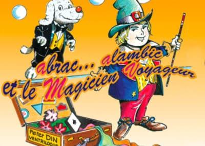 Peter Din – Spectacle jeune public –Le Magicien Voyageur