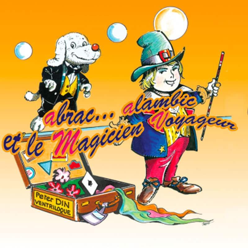 Spectacle pour enfant Peter Din La Maison magique