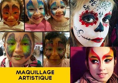 maquillage artistique - maquilleuse enfant