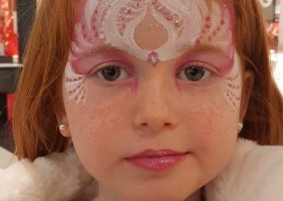 Face painting princesse