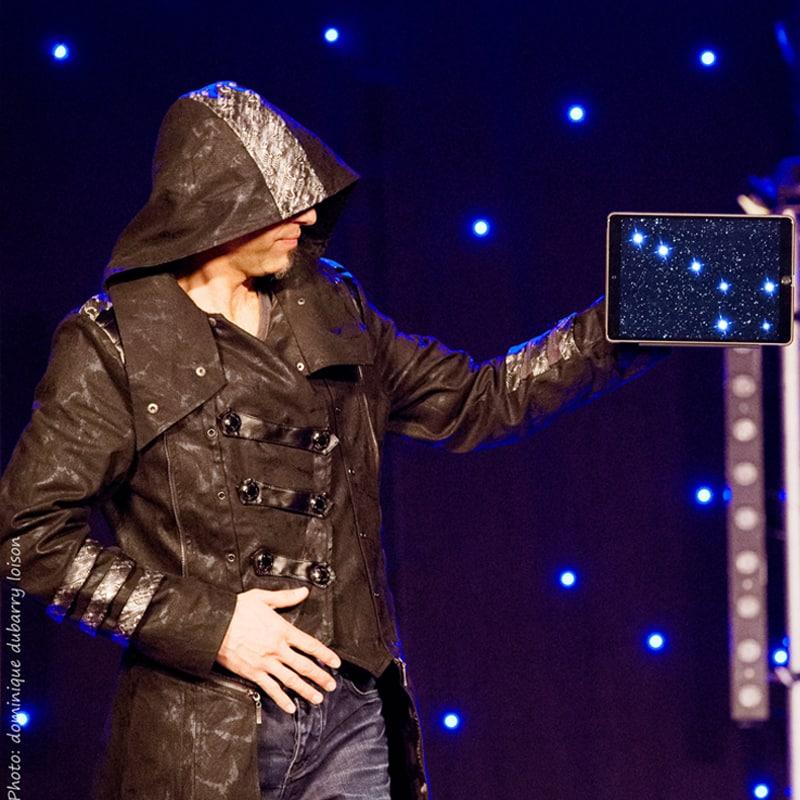 spectacle des arts visuel magie digitale ipad
