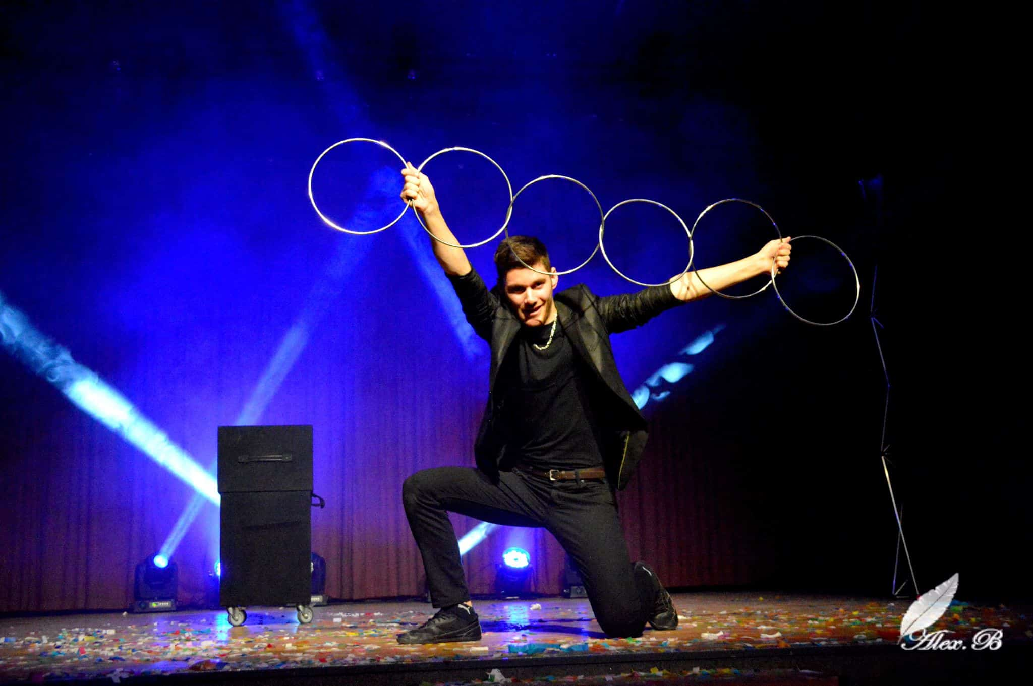 magicien anneaux chinois orleans spectacle