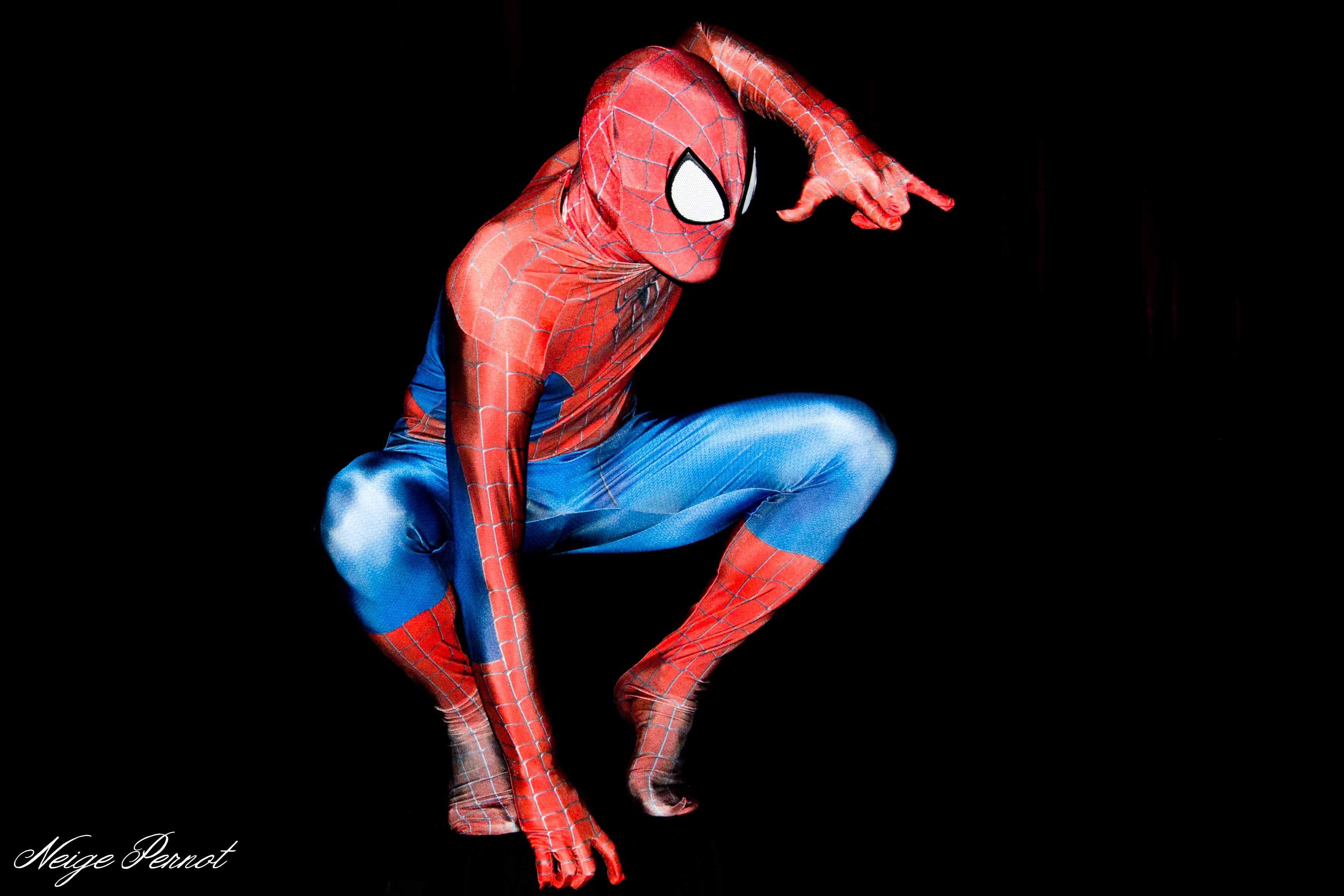 COSPLAY SPIDER MAN COSTUME