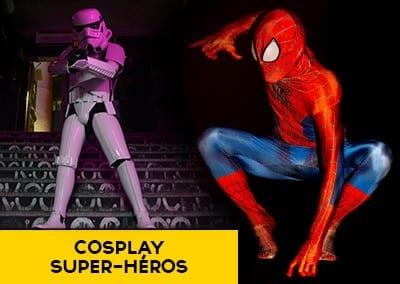 Super-héros – Cosplay