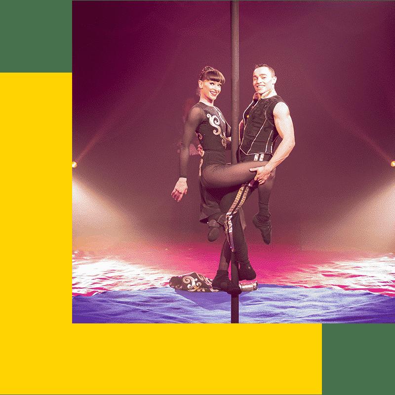 Duo Frénésie - Mat Chinois - Cirque et aérien