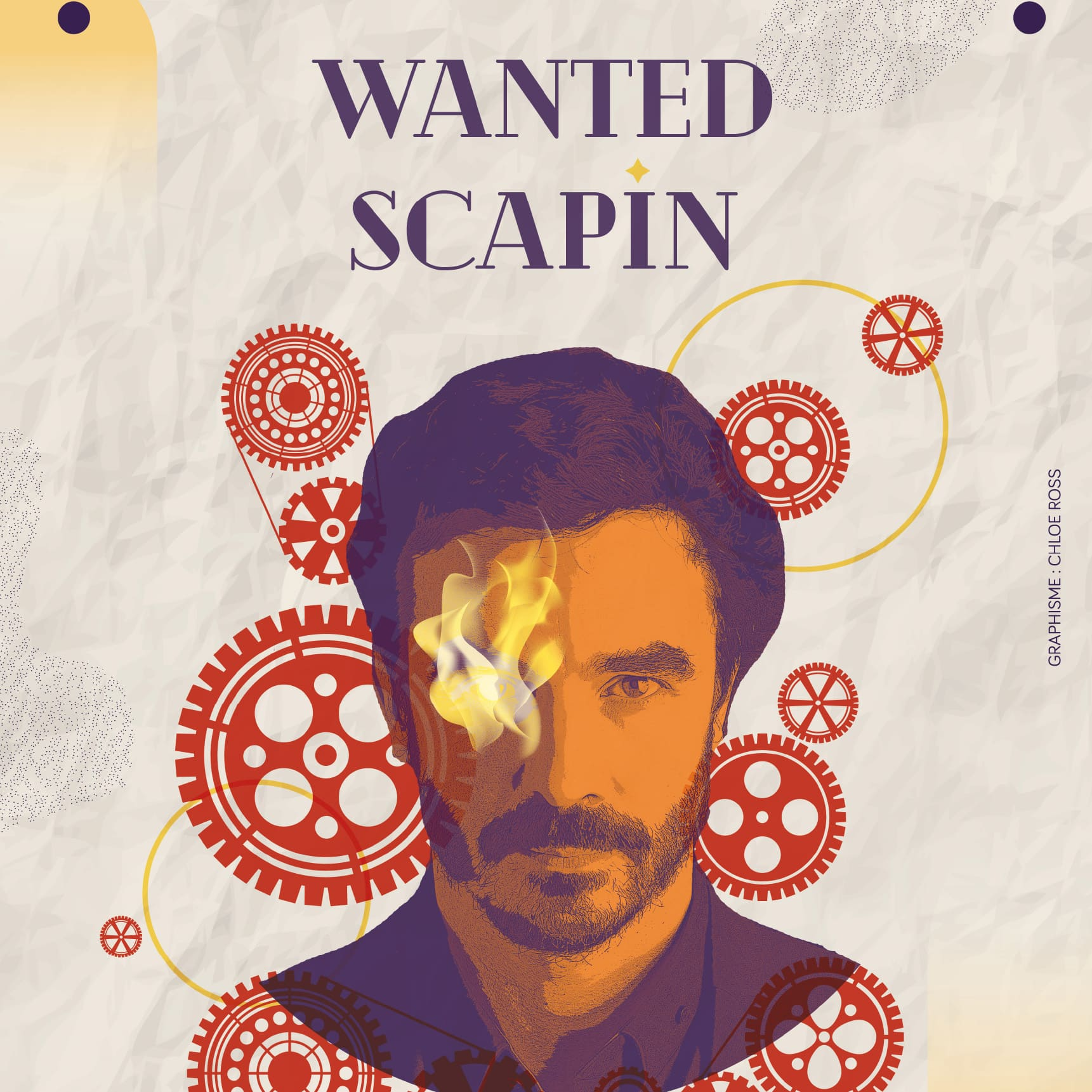 Wanted Scapin