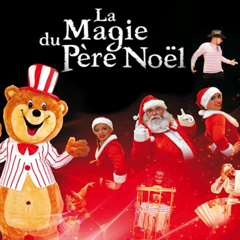 La magie du Père-Noël spectacle enfant