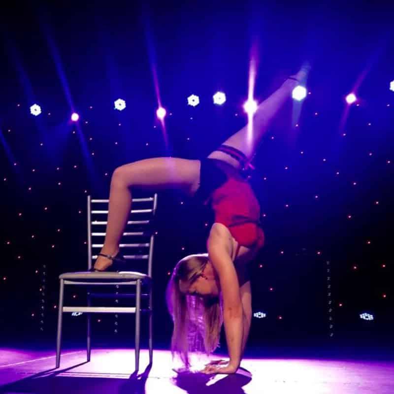 numéro chaise tango spectacle