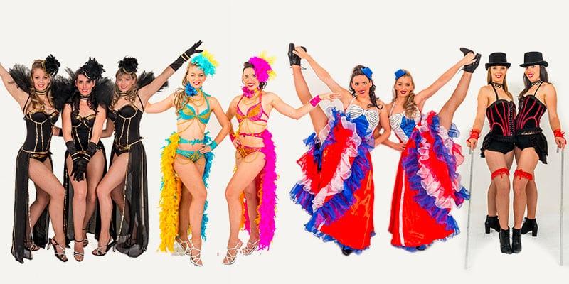 spectacle cabaret étincelles danseuse