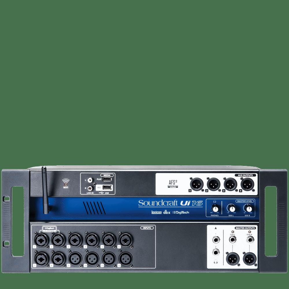 Location console son soundcraft UI 16