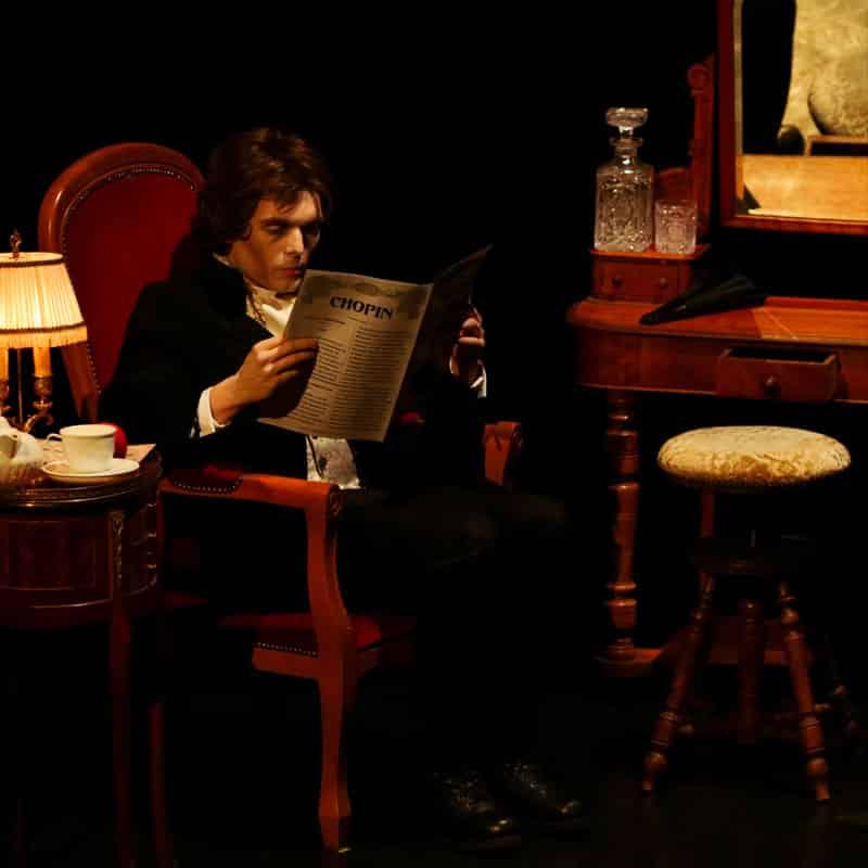 spectacle culturel Frédéric Chopin