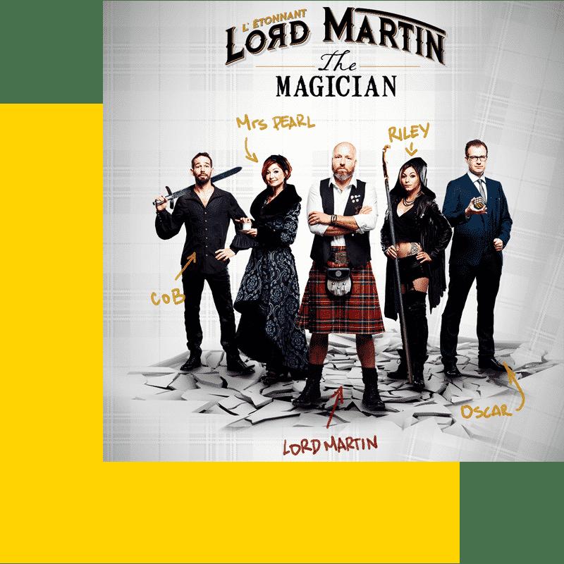 L'étonnant Lord Martin Spectacle