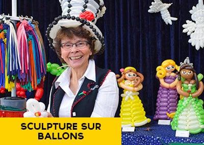Sculpture sur ballons animation