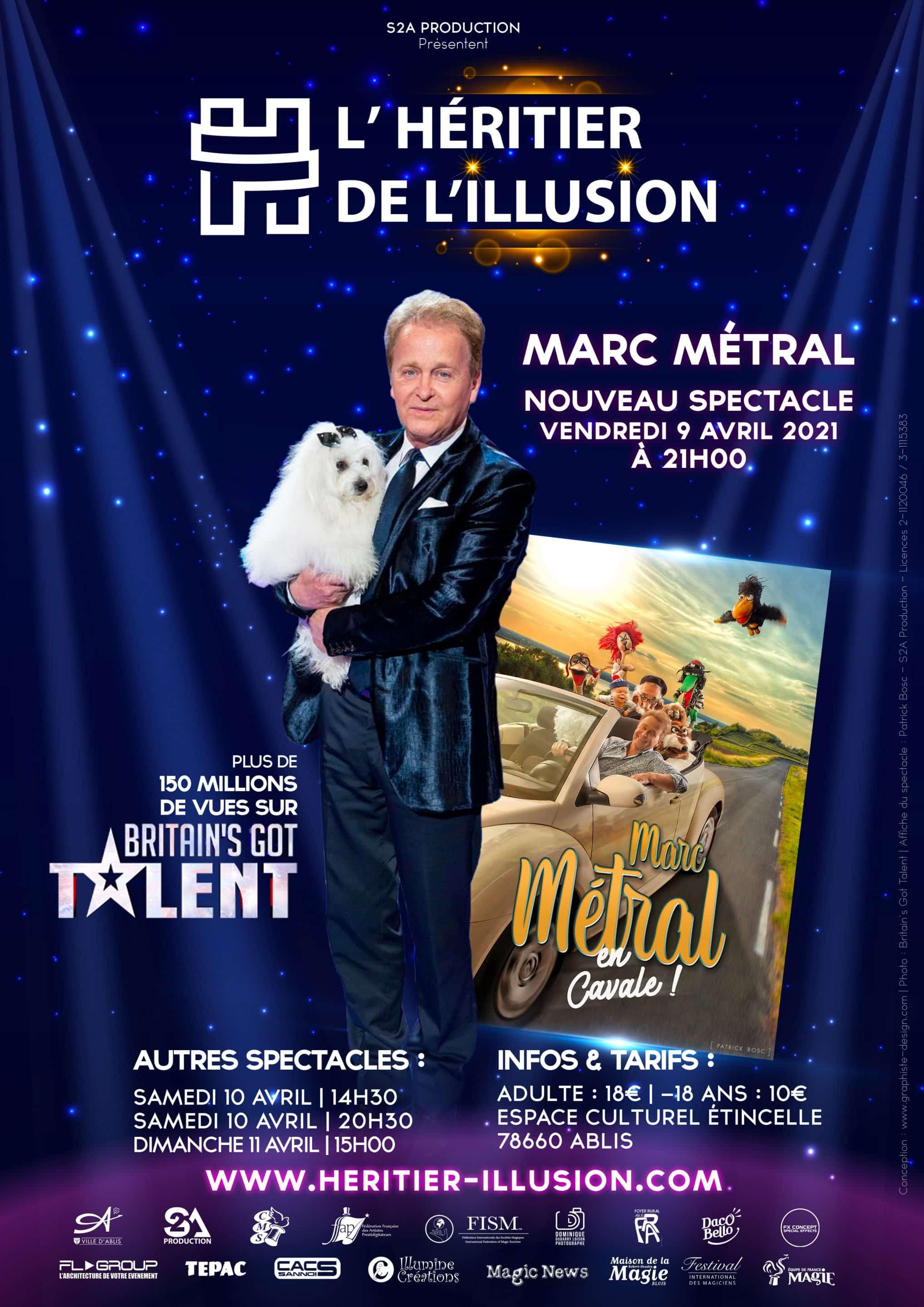 Marc Métral en Cavale - Ventriloque