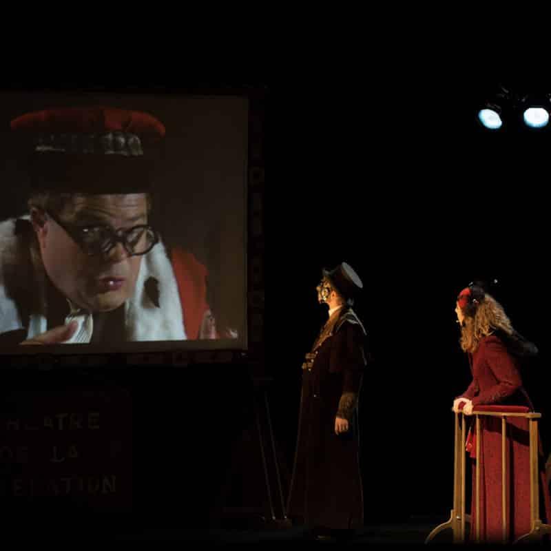 Spectacle théâtre magie Procès Scapin