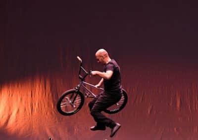Acrobatie Vélo VTT