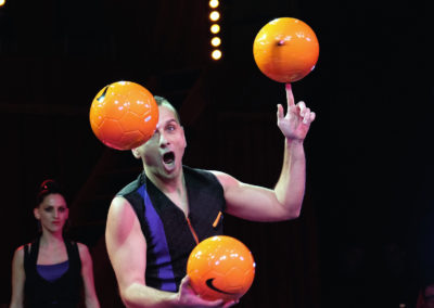 jongleur Jonglage de ballon foot