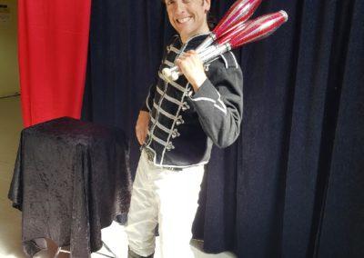 Jonglage et jonglerie artiste