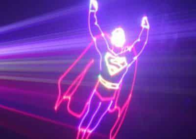 Show Laser logo personnalisé