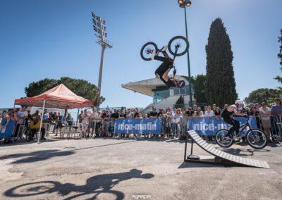 acrobatie VTT Vélo BMX