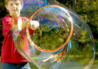 bulles de savon géante animation enfant