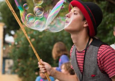 bulles de savon géante animation enfants