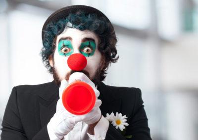 clown in a party evenement spectacle enfant