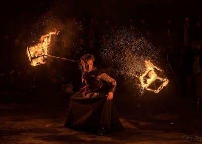 jongleur de feu ©Eric Dany