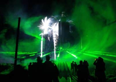 laser show animation projection spectacle