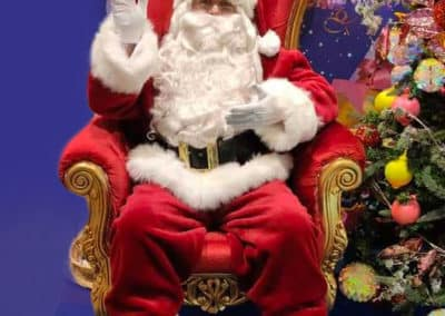 Père Noël animation photo