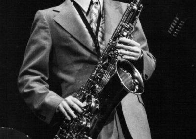 chanteur saxophoniste musique chanteur
