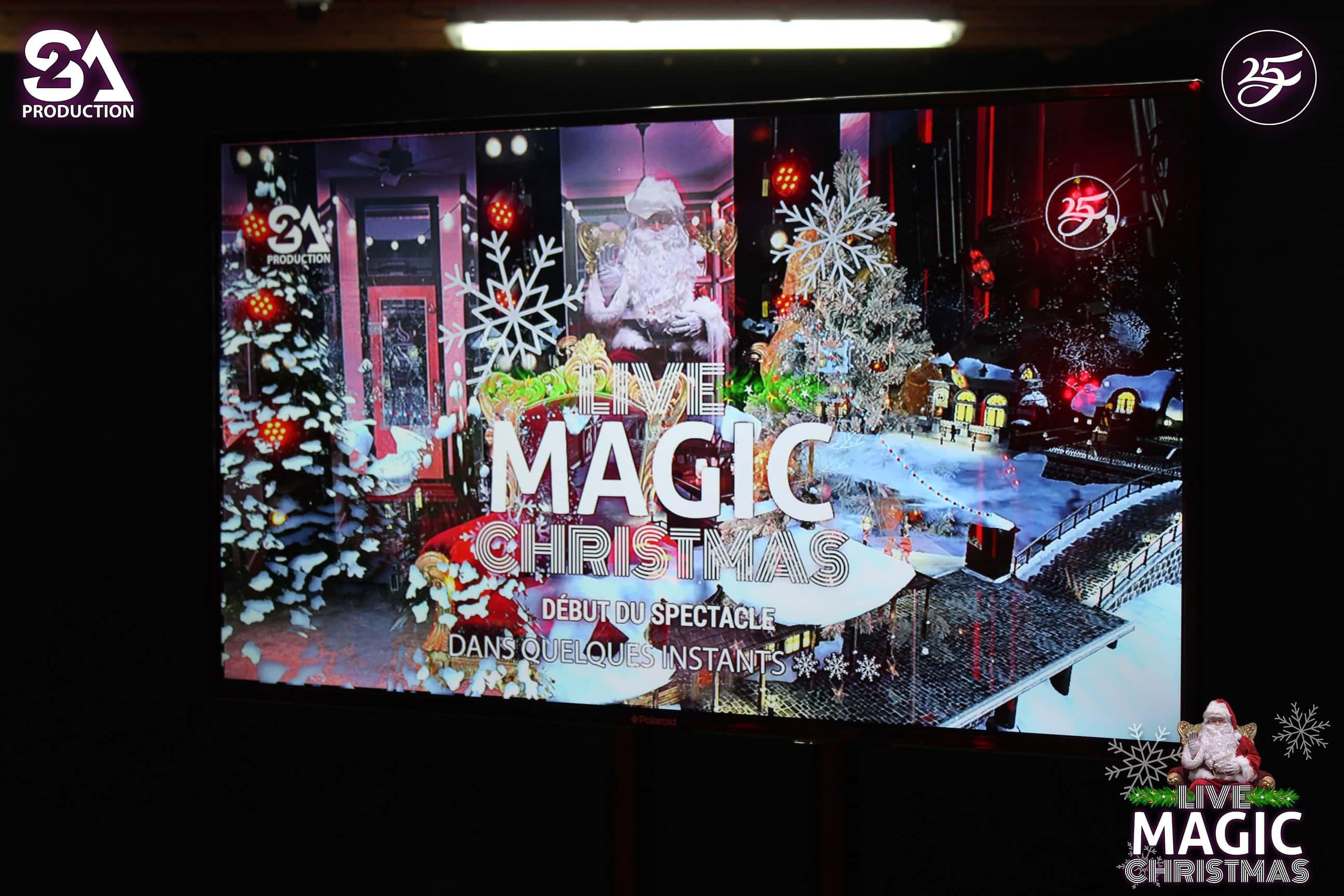 Live visio Magic Christmas