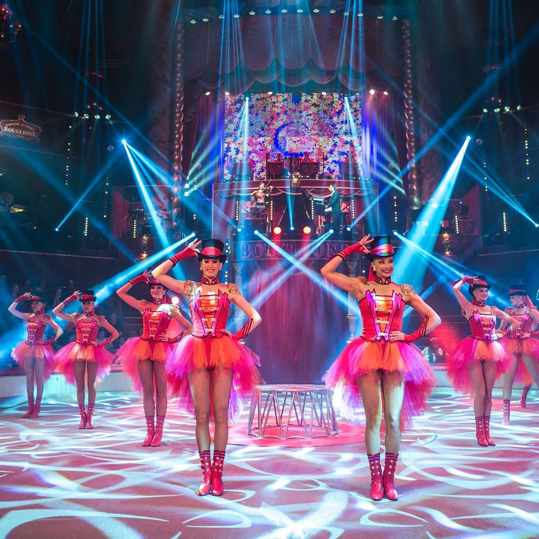 La troupe Mégalythe spectacle s2a production