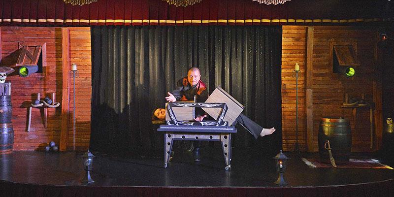 L'illusionniste spectacle sebastien ladruze