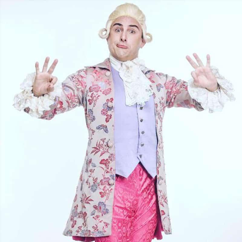 spectacle Mozart va à l'école