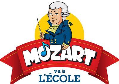 Mozart va à l'école